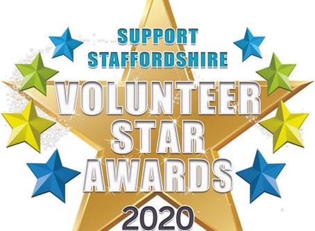 2020 Support Staffordshire Volunteer Star Awards on hold