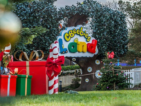 Alton Towers lights up for Christmas to lift the Covid gloom