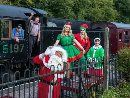 Covid-19 causes Santa Express to hit the buffers on the CVR