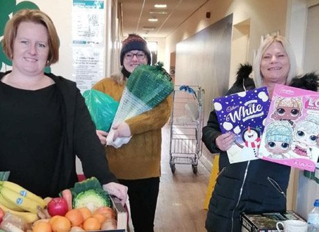 Community food project supporting families during lockdown
