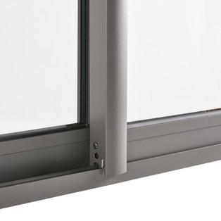 ventana termopanel Gris grafito aluminio