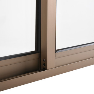 ventana aluminio Titaneo termopanel term