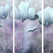White & Gray Flowers