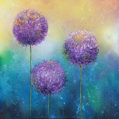 Purple Allium
