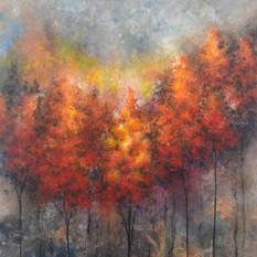 Fiery Trees