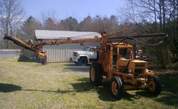 Ford Commercial w Swing Arm Cutter