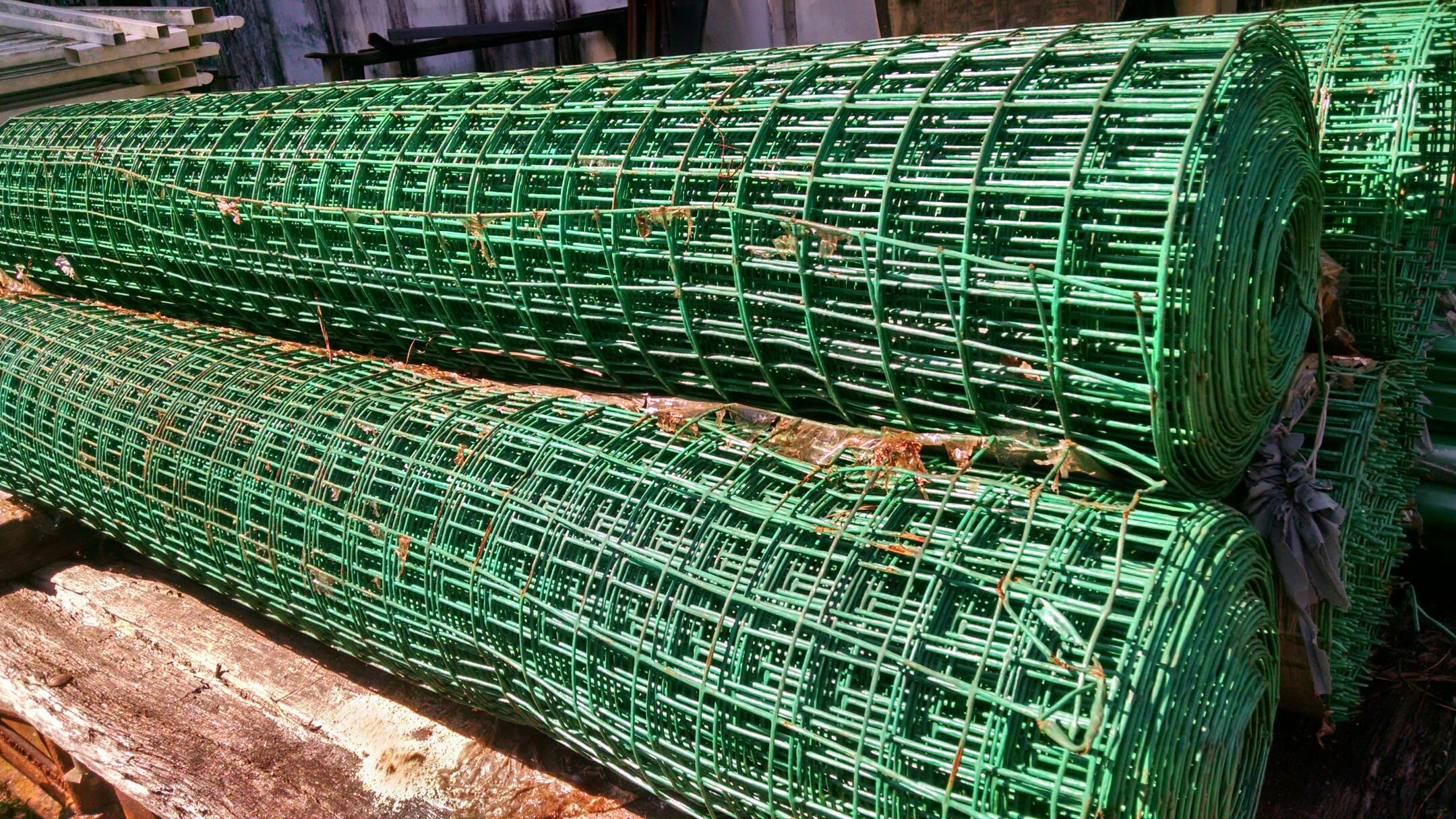 Coated 6' Fencing