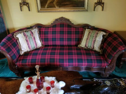 Victorian Hand-carved Sofa