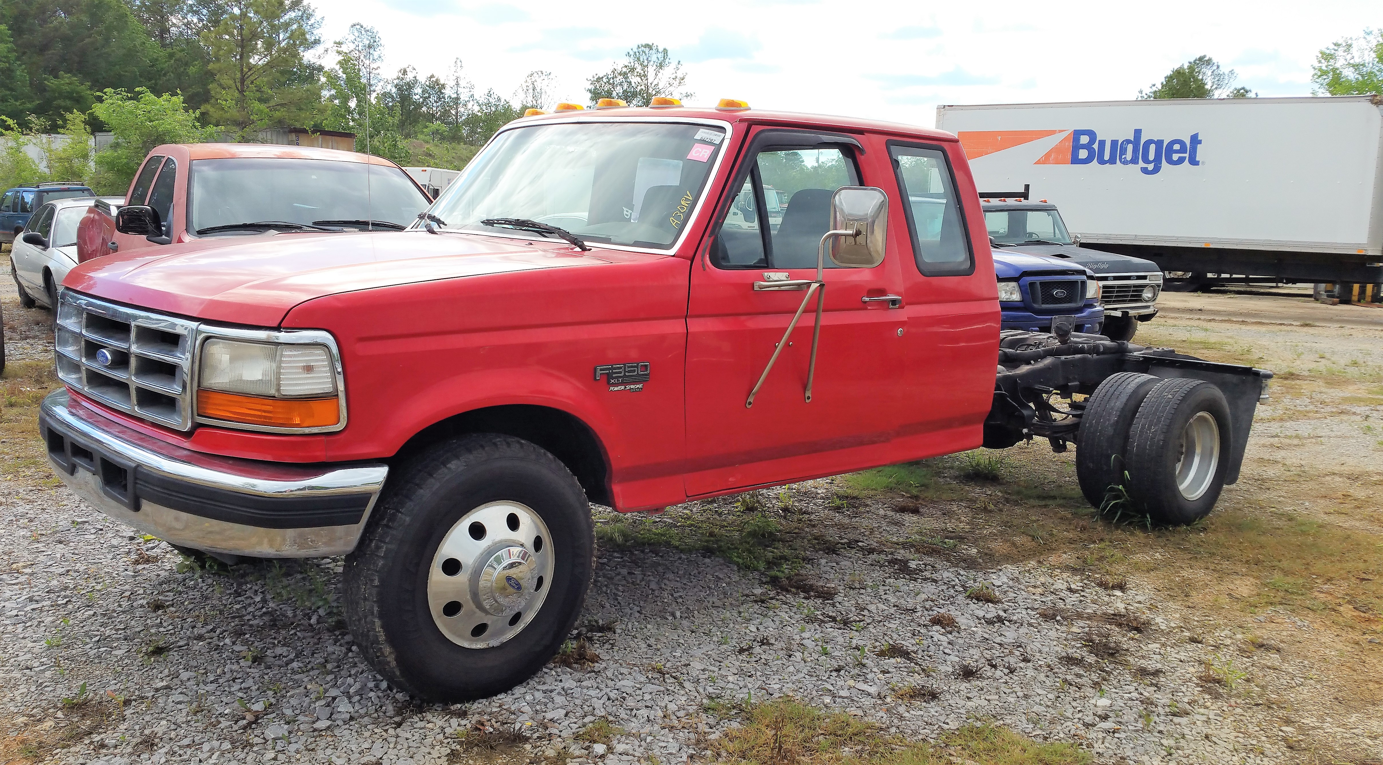 1997 Ford F350 7.3 Diesel Cab & Chassis