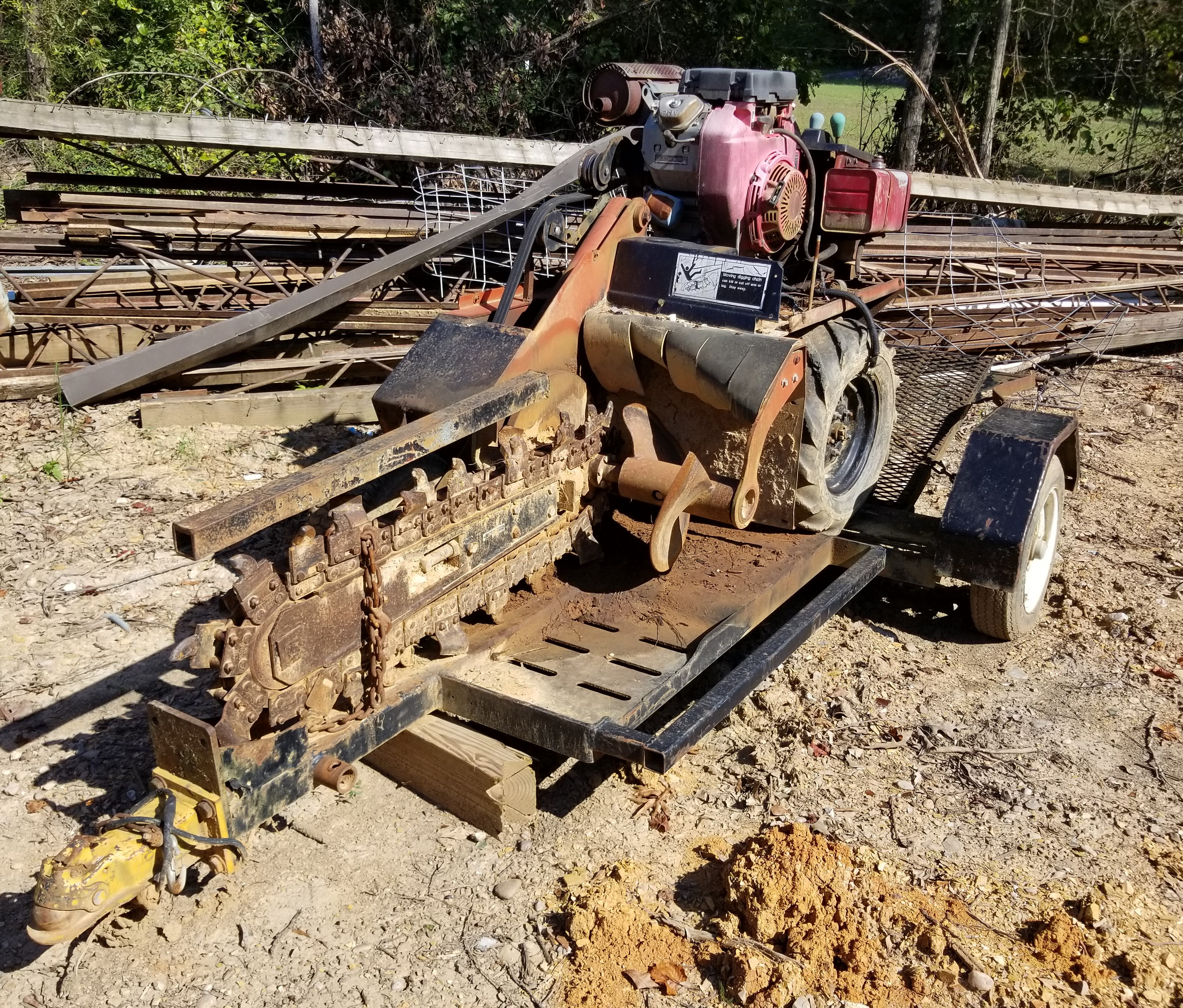 Ditch Witch 1620 Trencher