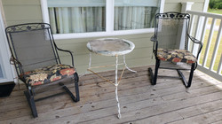 Metal Table & Chairs
