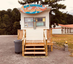 Shaved Ice Stand Front