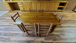 Childrens Table & 6 Chairs