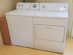 Admiral HD Washer & Kenmore HD Dryer