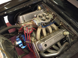 1969 Ford Mustang Fastback Engine 1
