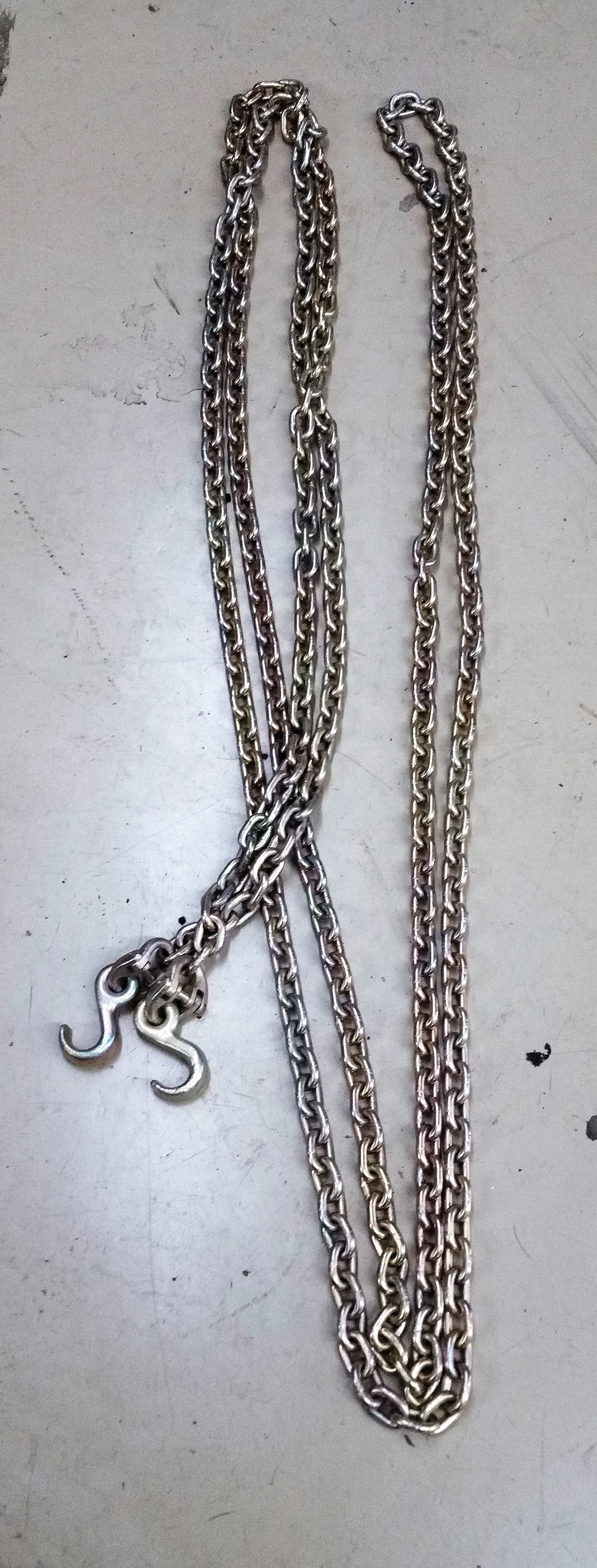 Military Chain with Hooks