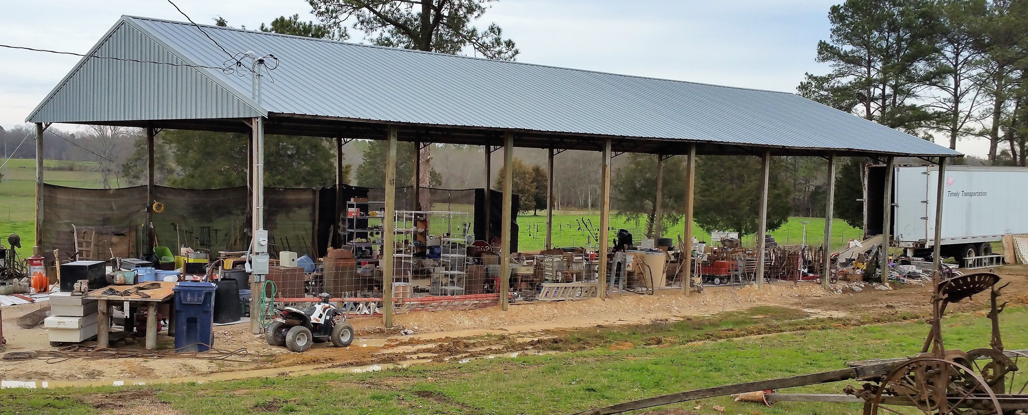 40' x 80' Pole Shed on Tract 8