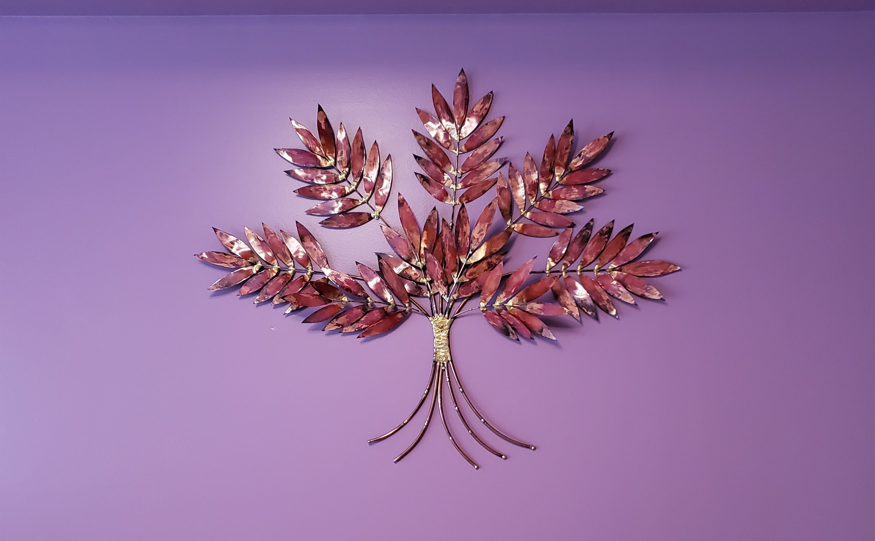 Metal Leaf Art