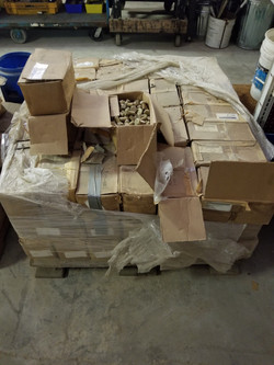 Pallet of Bolts