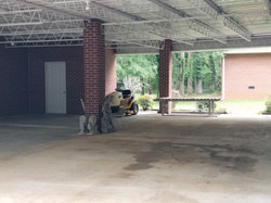 Four Car Carport with open back
