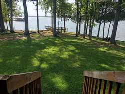 Back Deck view to Water