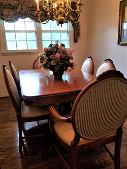 French Country Dining Table & Chairs