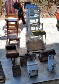 Assorted Wood Items