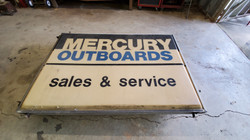 Mercury Outbaords Sign
