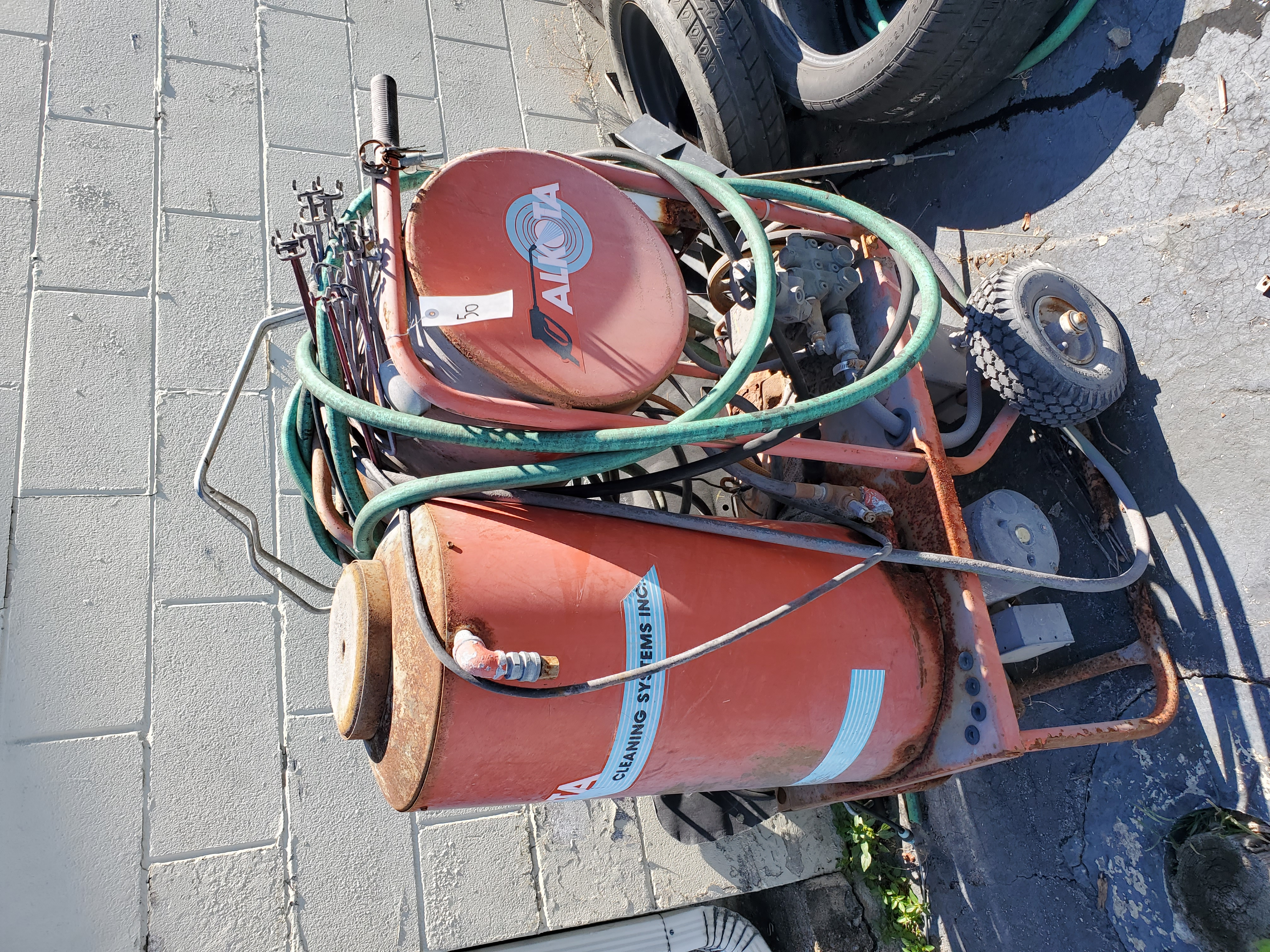Alkota Pressure Washer (2)