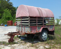 Military Trailer with Sides