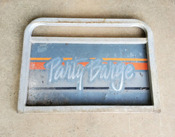 Party Barge Sign