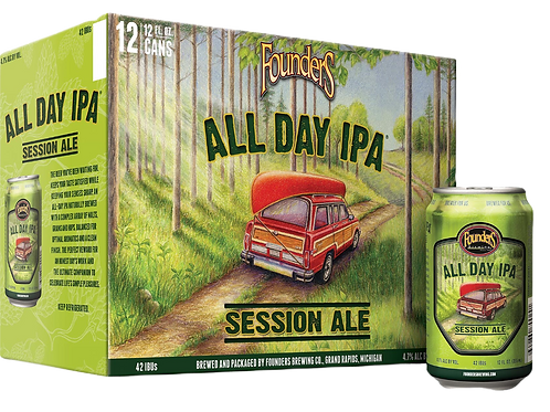 Founders All Day IPA 12 oz can