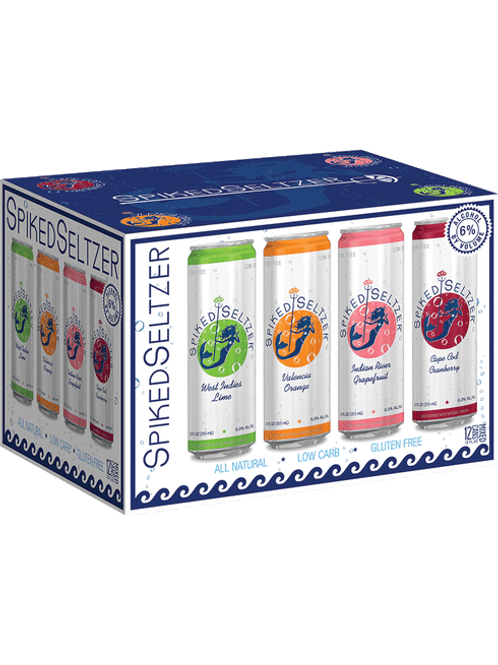 B&V spiked seltzer variety 12oz can