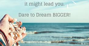 Thinking Small vs. Dreaming Big #WritingPromptWednesday