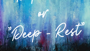 """Depressed or Deep-Rest"" - #WritingPromptWednesday"
