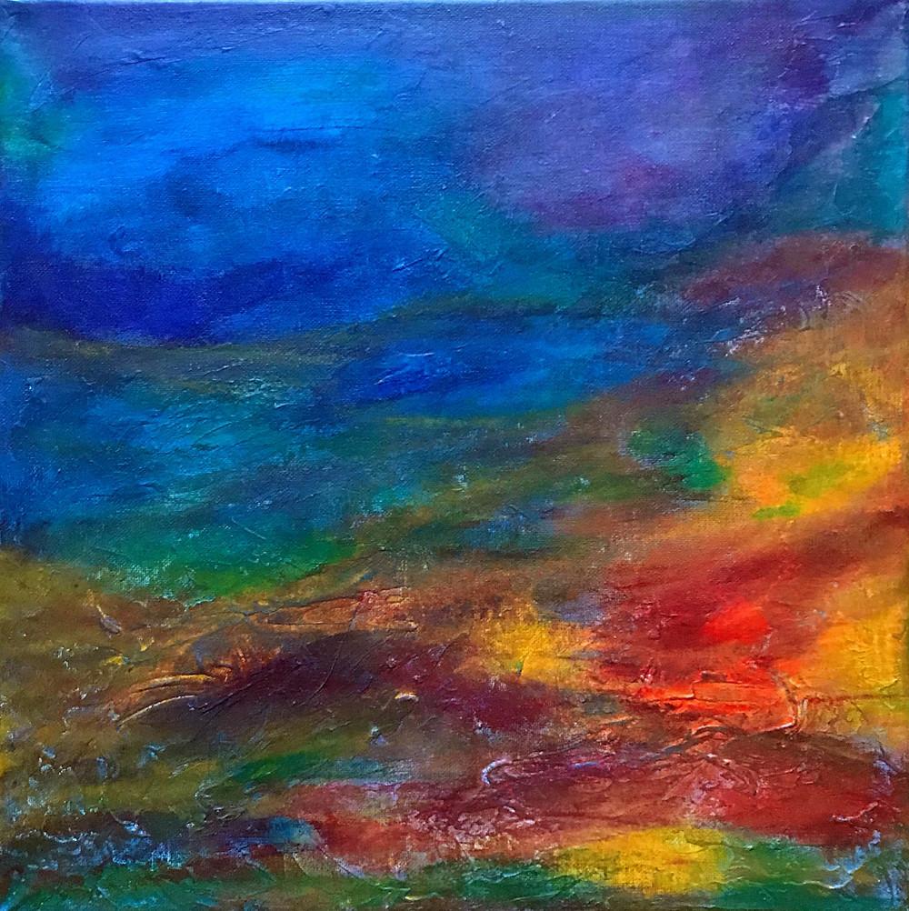 """""""Bliss"""" / 40x40cm / Acrylic on Canvas / Available"""