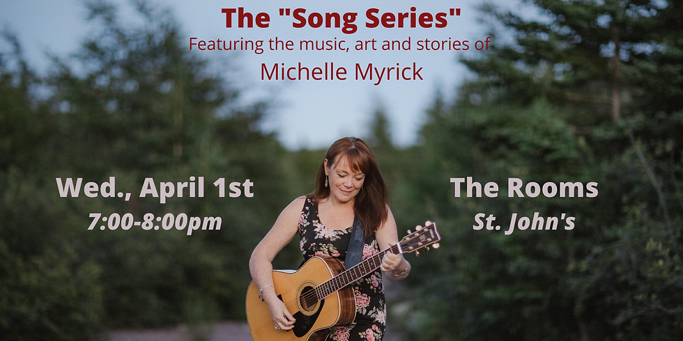 """""""Song Series"""" at The Rooms"""