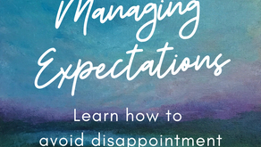 Managing Expectations - #WritingPrompt Wednesday