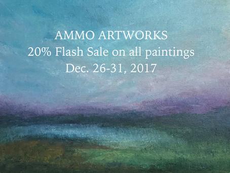 20% off Flash Sale