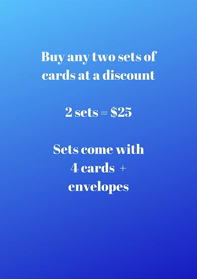 Buy any 2 sets at Discount