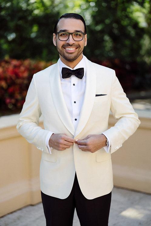 Custom Off White Dinner Jacket