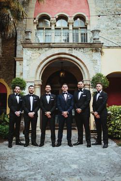 grooms man tuxedo