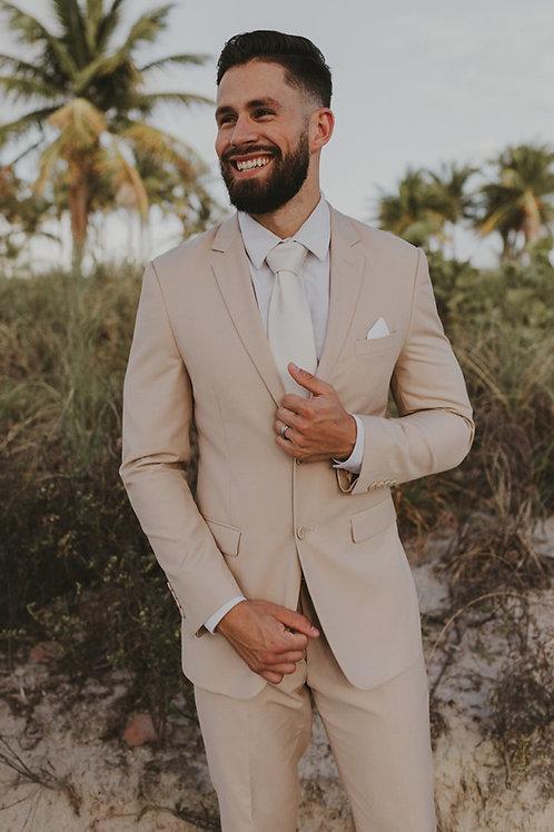 Sand Khaki Suit