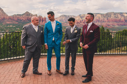 Groomsman in suits