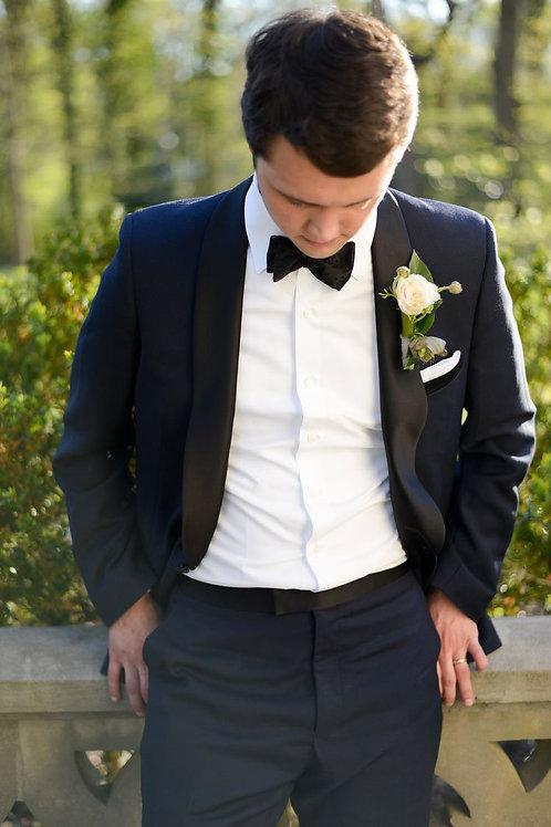 Lux Navy Shawl Tuxedo