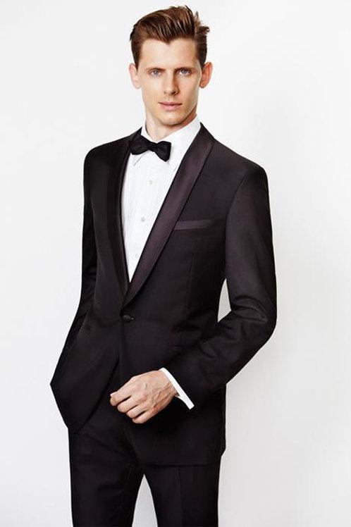 Lux Black Shawl Tuxedo