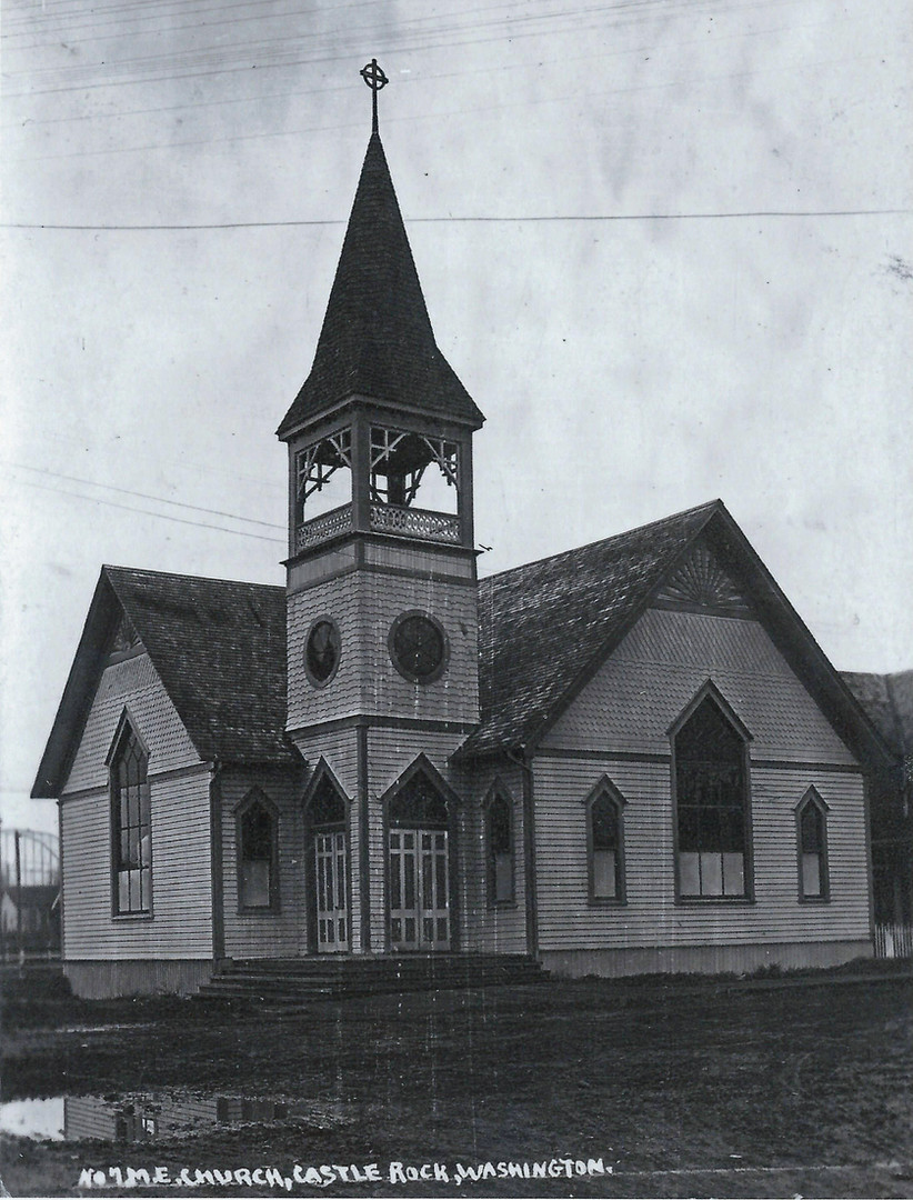 B Early picture of C.R.Methodist Church