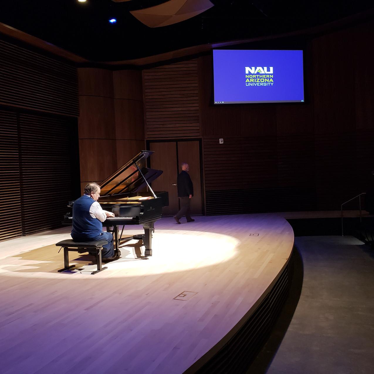 Tuning with Jeffrey Swann