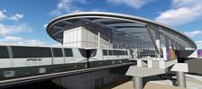 Sky Train at Sky Harbor