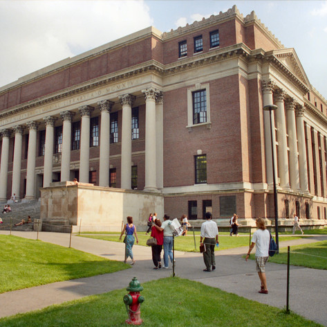 Havard Widener Memorial Library